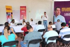 En el PRD nuestros candidatos y candidatas no están solos: Víctor Manríquez