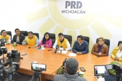 El PRD, es hoy la mejor opción política en Michoacán: Juan Bernardo Corona