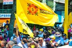 Balance favorable para el PRD Michoacán: Víctor Manríquez