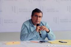 Falso, presunto repunte de Ramírez Bedolla Equipo por Michoacán