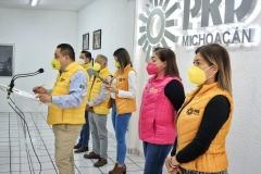 Somos una fuerza política de progresista y social, que camina al lado de la gente: PRD Michoacán