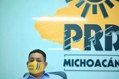 Vamos a ganar la gubernatura en las urnas, con la voluntad ciudadana, no por default: PRD Michoacán