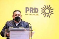 PRD Michoacán, listo para arrancar el movimiento del sol