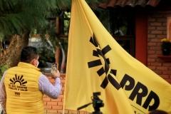 100 días evolucionando, de fortalecimiento, cerca de ti #CaminoAl21: PRD Michoacán