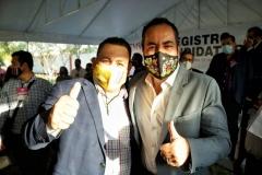 La  ciudadanía apoya al candidato de experiencia y de resultados: PRD Michoacán