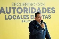 Los gobiernos locales del PRD responderán a la ciudadanía: Víctor Manríquez